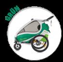 Kidgoo1 Sport in grün