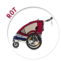 Kindersportwagen Sportrex1 in rot