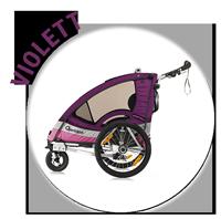 Kindersportwagen Sportrex1 in violett
