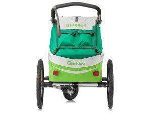 Kidgoo1 Kindersportwagen Rückansicht Transporttaschen Stauraum