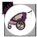 Kindersportwagen Sportrex2 in violett