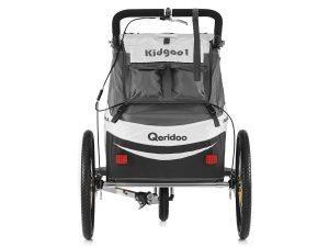Kidgoo1 Sport Kindersportwagen Rückansicht Transporttaschen Stauraum