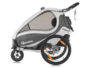 Kidgoo1 Sport Kindersportwagen Seitenansicht anthrazitgrau