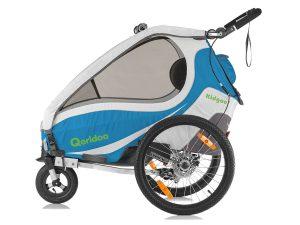 Kidgoo1 Sport Kindersportwagen Seitenansicht blau