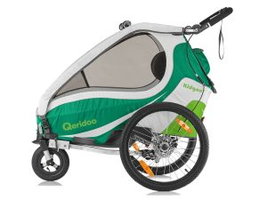 Kidgoo1 Sport Kindersportwagen Seitenansicht grün