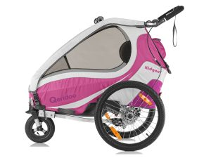 Kidgoo1 Sport Kindersportwagen Seitenansicht pink violett