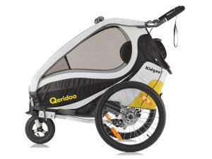 Kidgoo1 Sport Kindersportwagen Seitenansicht gelb