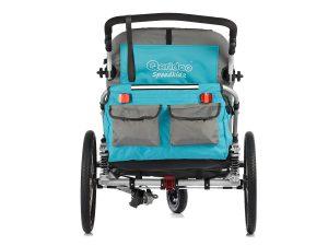 Speedkid2 Kindersportwagen Rückansicht