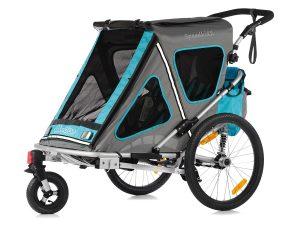 Speedkid2 Kindersportwagen Hauptansicht blau