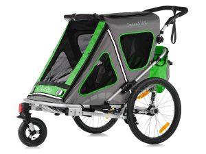 Speedkid2 Kindersportwagen Hauptansicht grün