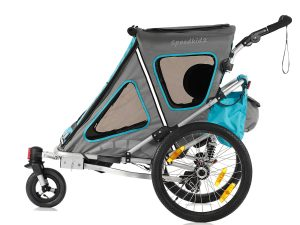 Speedkid2 Kindersportwagen Seitenansicht