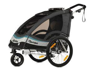 Sportrex1 Kindersportwagen Hauptansicht anthrazitgrau