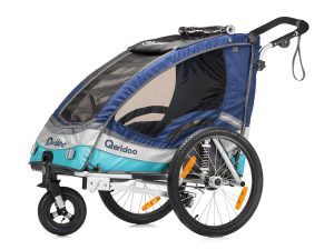 Sportrex1 Kindersportwagen Hauptansicht blau