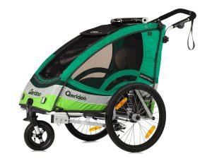 Sportrex1 Kindersportwagen Hauptansicht grün