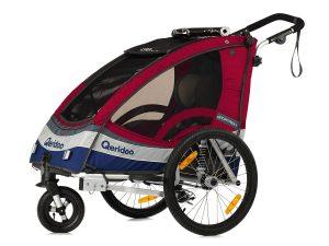 Sportrex1 Kindersportwagen Hauptansicht rot