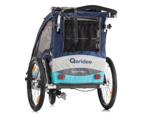Sportrex1 Kindersportwagen Rückansicht