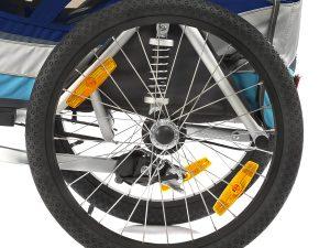 Sportrex1 Kindersportwagen Sprungfeder mit Luftkolben
