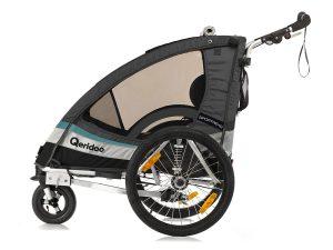 Sportrex2 Kindersportwagen Seitenansicht anthrazit
