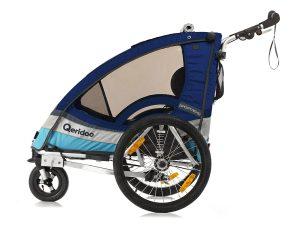 Sportrex2 Kindersportwagen Seitenansicht blau