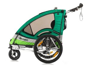 Sportrex2 Kindersportwagen Seitenansicht grün