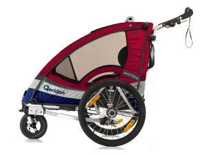 Sportrex2 Kindersportwagen Seitenansicht rot