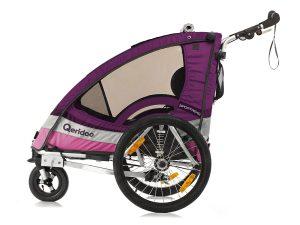 Sportrex2 Kindersportwagen Seitenansicht violett